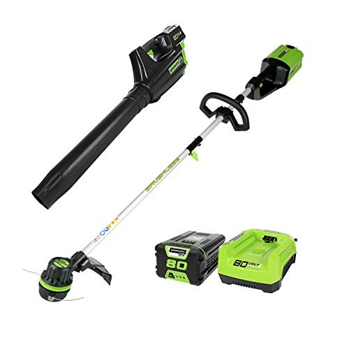 Greenworks Pro Stba80l210 80v Cordless String Trimmer And